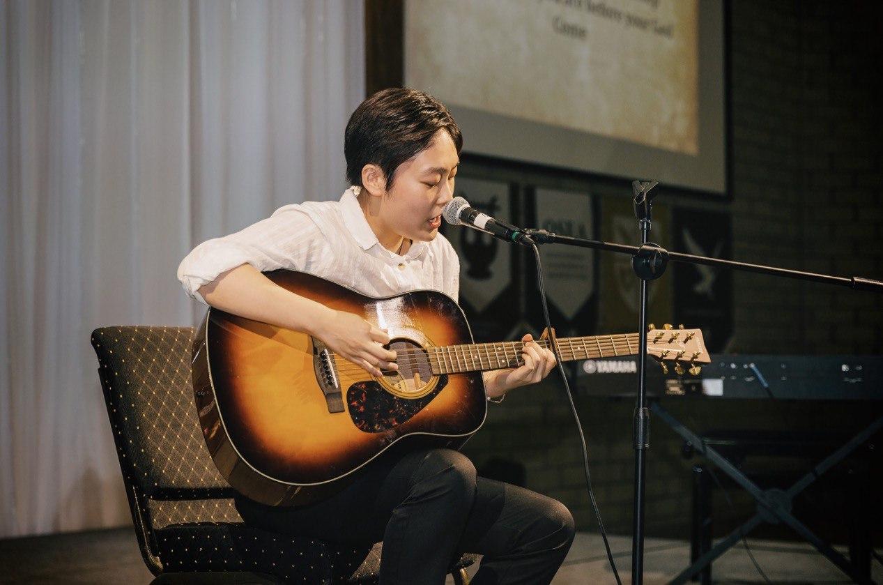 Music Students Demonstrate Worship Leadership and Guitar Skills